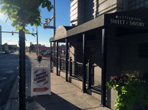 You'll find us on the corner of Ellicott and Washington streets in the former Butterwood Sweet & Savory restaurant.
